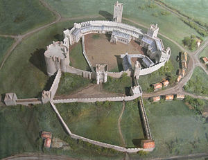 300px-Reconstruction_of_Pontefract_Castle
