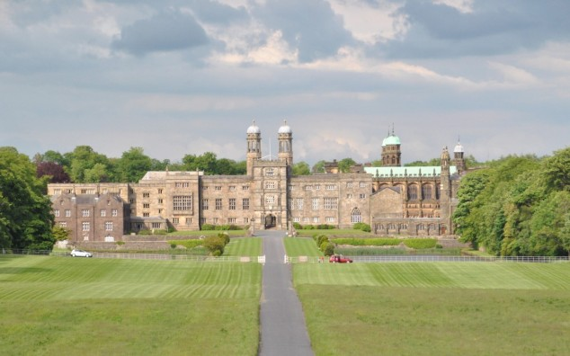 Stonyhurst Hall, the ancestral home of the Shireburns in Aighton.